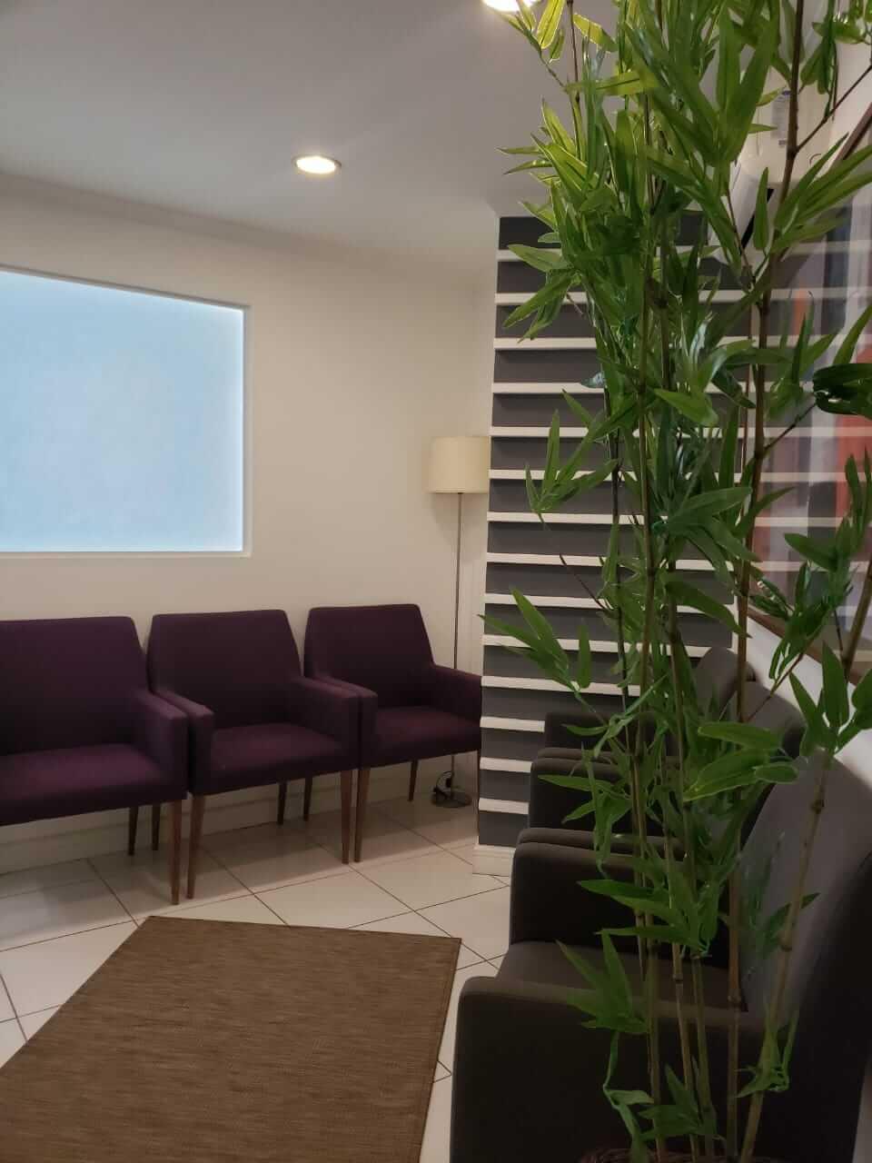 Sala de espera do Consultório de Paula Machado - Higianópolis